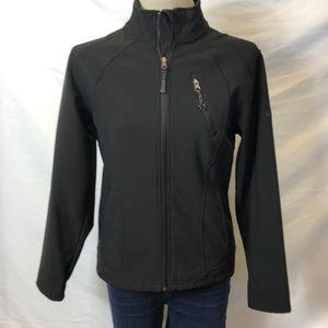 Black Winter Coat Jacket Windbreaker
